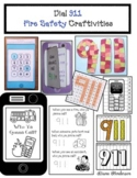 Fire Safety Activities: 911 Crafts