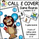 Number Games to 10 ● Call & Cover Game Boards ● Math Games