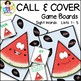 Sight Word Games ● Call and Cover Sight Word Game Boards ● Sight Words List 1-5