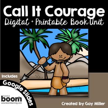 Call It Courage Novel Study: vocabulary, comprehension, writing, skills