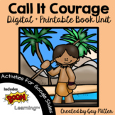 Call It Courage Novel Study: vocabulary, comprehension, writing, skills
