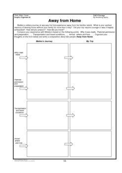 Call It Courage     Activities/Graphic Organizers