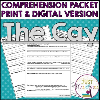 Call It Courage Comprehension Packet