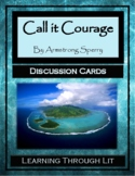CALL IT COURAGE by Armstrong Sperry - Discussion Cards PRINTABLE & SHAREABLE