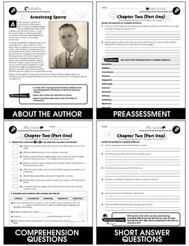 Call It Courage - Literature Kit Gr. 7-8