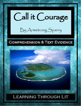 CALL IT COURAGE by Armstrong Sperry - Comprehension & Text