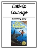Call It Courage Reading Response Novel Journal