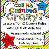 Comma Rules for Middle School and High School