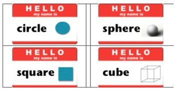 Call Me Square: Geometry Name Tags