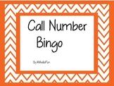 Call Number Bingo by KMediaFun