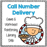 Call Number Challenge - Pizza Delivery Theme