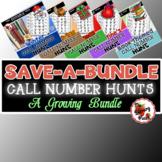 Call Number Hunt Growing Bundle