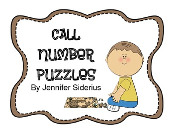 Call Number Puzzles for Library Centers
