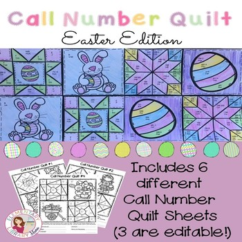 Call Number Quilt Easter Edition
