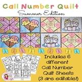 Call Number Quilt Summer Edition