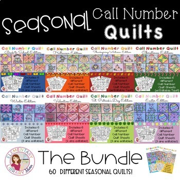 Call Number Quilts THE BUNDLE