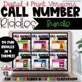 Call Number Riddles Bundle [Digital]