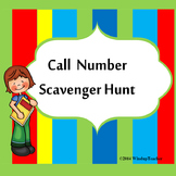 Call Number Scavenger Hunt  *Editable to meet your needs!