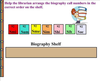 Call Numbers of Biography Books   Library Skills   Information Literacy Skills