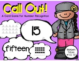 Call Out! Number Recognition 11 - 20
