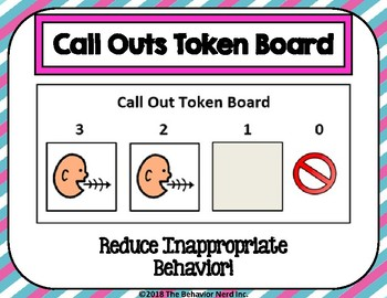 Call Outs Token Boards