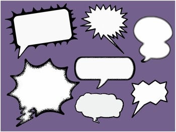 Call Outs and Cartoon Speech Bubbles - 600+ files