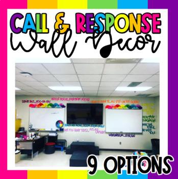 Call & Response Wall Decor