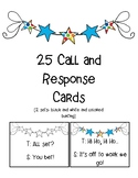 Call and Response Cards