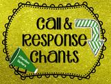 Call and Response Chants