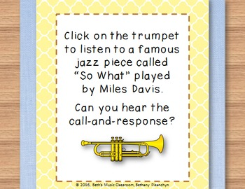 Call-and-Response Lesson and Songs