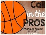 Pronoun and Reflexive Pronoun Centers and Printables