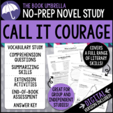 Call it Courage Novel Study - Distance Learning - Google Classroom