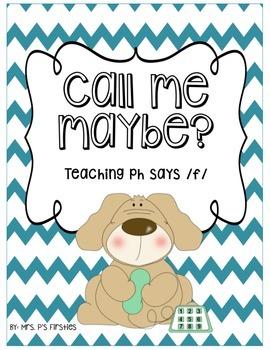 Call me maybe? -- Teaching ph says /f/