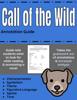 Call of the Wild Annotation Guide