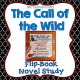 Call of the Wild Novel Study, Flip Book Project, Writing Prompts