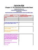 Call of the Wild: Chapter 3 Graphic Organizer Worksheet