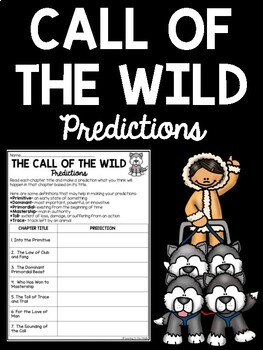 Call of the Wild Chapter Prediction Chart
