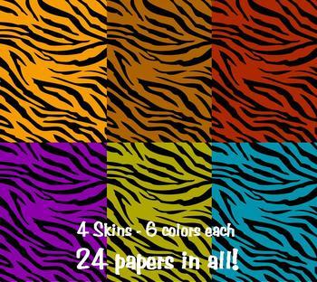 Call of the Wild! Safari Digi-Papers