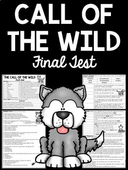 Call of the Wild Test Final Assessment Characters and Plot