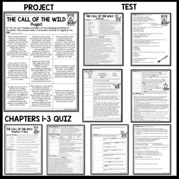 Call of the Wild Unit, Core Knowledge, Common Core Aligned, Jack London