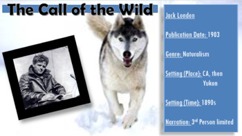 Call of the Wild Unit PowerPoint