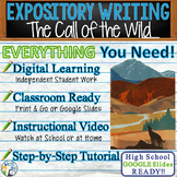 Call of the Wild by Jack London - Textual Evidence Dependent Expository Writing