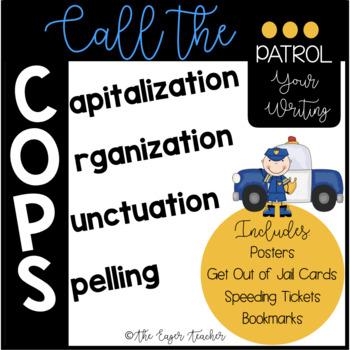 Call the COPS Capitalizatio... by The Eager Teacher   Teachers Pay ...