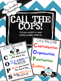 Call the COPS Posters: Writing Complete Sentences