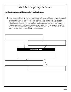 Calle de la Lectura 3ro - Unidad 2 Semana 5 - Paquete de tarea/actividades