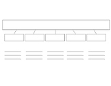 Calle de la Lectura - Organizador gráfico para el vocabulario