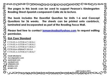 Calle de la lectura K Preguntas  y Conceptos