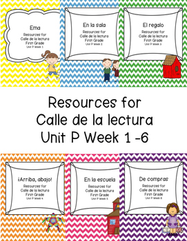 Calle de la lectura Unit P Bundle