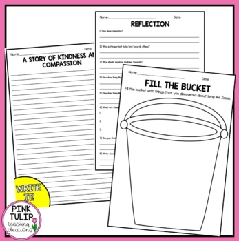 Called to Live Like Jesus - Activity Pack