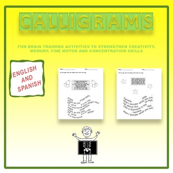 Calligrams: Fun Brain Training Activies (English + Spanish)